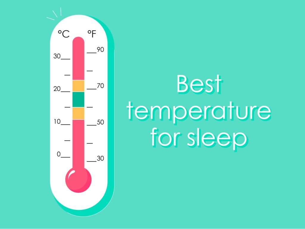 Showing what is the best temperature for sleep for those who asking themselves: why do I get so hot when I sleep