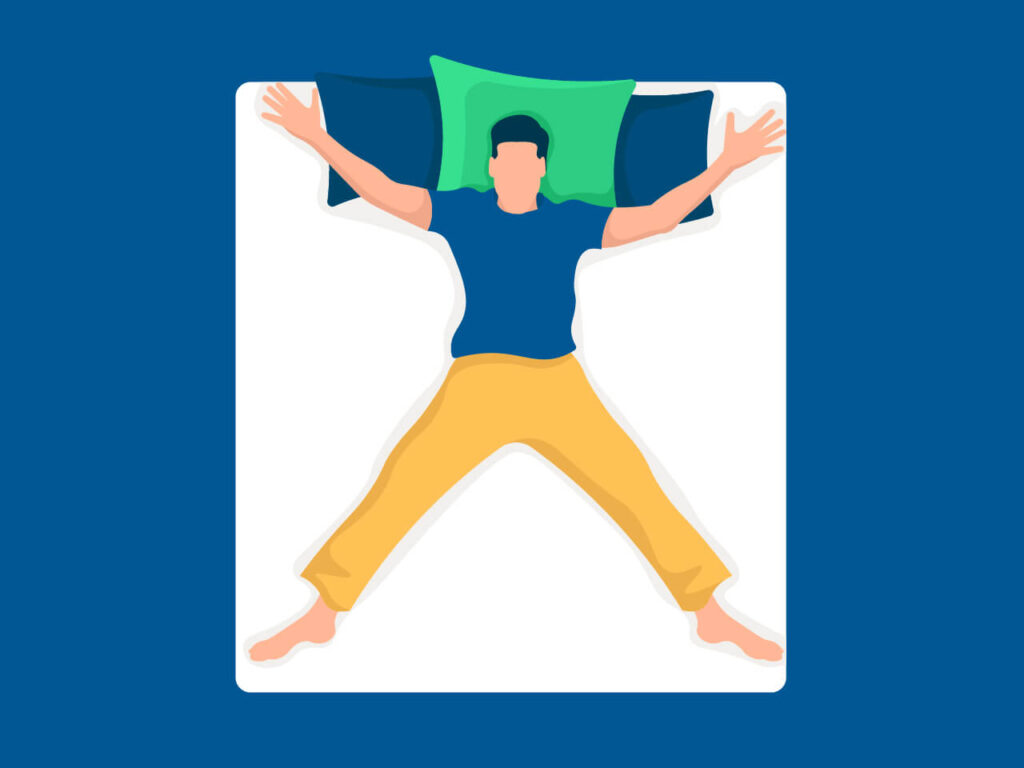 Read more about the article Interesting Facts about the Starfish Sleeping Position