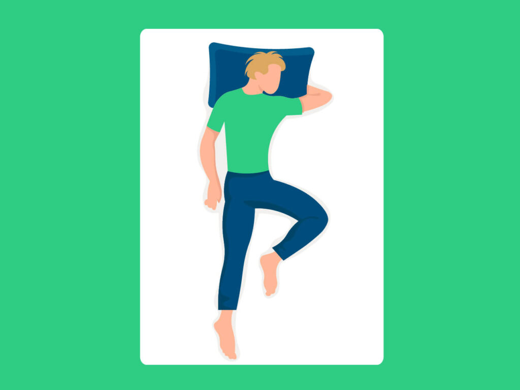 Read more about the article 6 Amazing Benefits of the Tiger Knee Sleeping Position